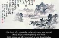 Citáty – moudrost CHUANG-TI NEJ-ŤING